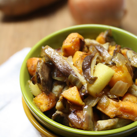 Sweet Potato, Onion & Apple Hash