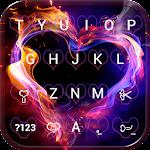 Smoke Heart Emoji Keyboard Wallpaper Icon