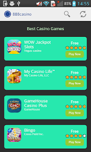 Apps and games for 888 casino - screenshot