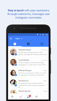 Facebook Pages Manager APK screenshot thumbnail 1