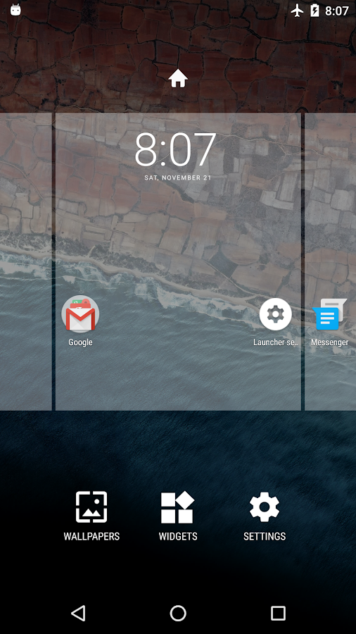 Marshmallow Launcher Screenshot 2
