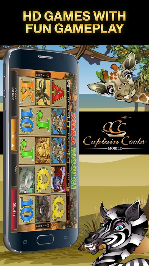 Captain Cooks Mobile HD Screenshot 6