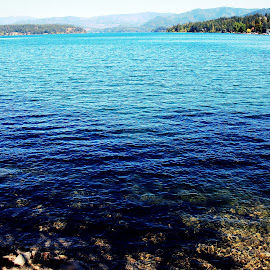 Blue Lake by Devon Andriola - Landscapes Waterscapes ( idaho, water, nature, blue, lake, photography )