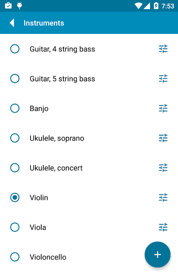 Tuner - gStrings Free Screenshot 4
