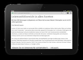 Screenshot of Schwarzwälder Bote ePaper