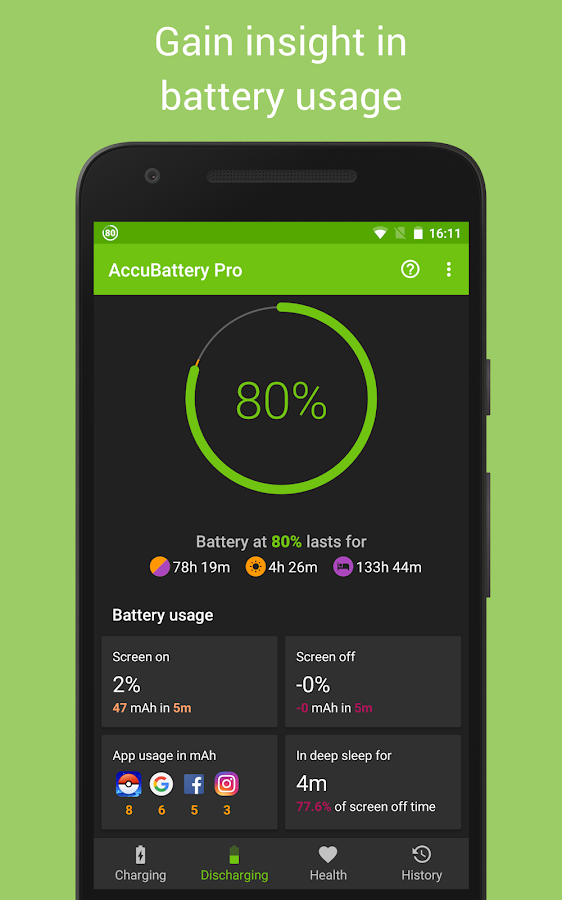 Accu​Battery Screenshot 1