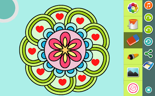 App Mandalas Coloring Pages APK For Windows Phone