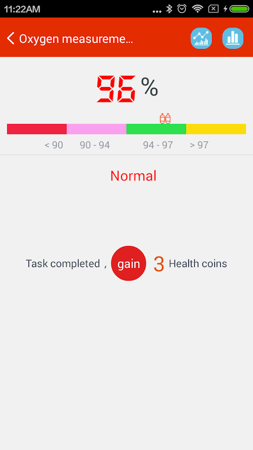 iCare Oxygen Monitor Pro Screenshot 3