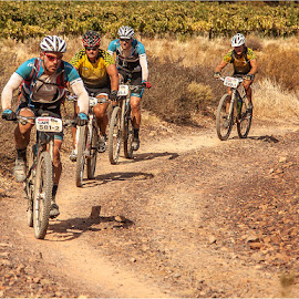 Epic Endurance by Maricha Knight van Heerden - Sports & Fitness Cycling ( endurance, cyclist, mountain biking, off road cycling, endurance race, binking, cape epic, cycing, absa cape epic )