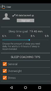 beddit analyse du sommeil android. Black Bedroom Furniture Sets. Home Design Ideas