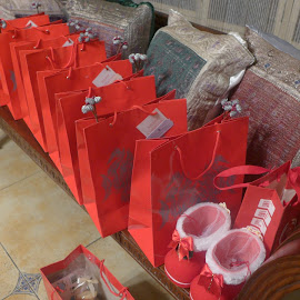 my Christmas gift bags by Liza Del Rosario - Novices Only Objects & Still Life ( shop, body, gourdos, s&r, well, living,  )