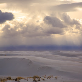 White Sands National Monument by Gannon McGhee - Landscapes Deserts ( sands, new, mexico, national, white, monument )