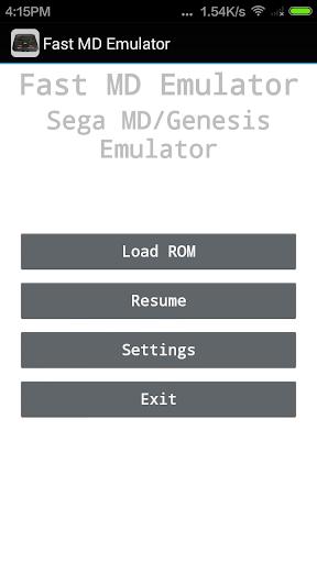 Fast MD/Genesis Emulator - screenshot