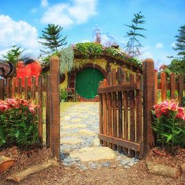 The Hobbit House by Saiful Gillerfoto - Buildings & Architecture Homes ( putrajaya, house, hobbit, garden, flower )