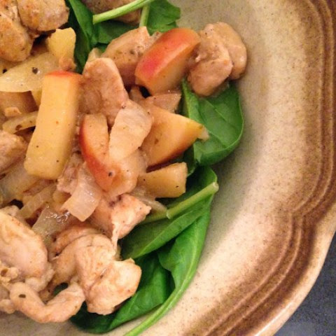 Apple-Dijon Chicken