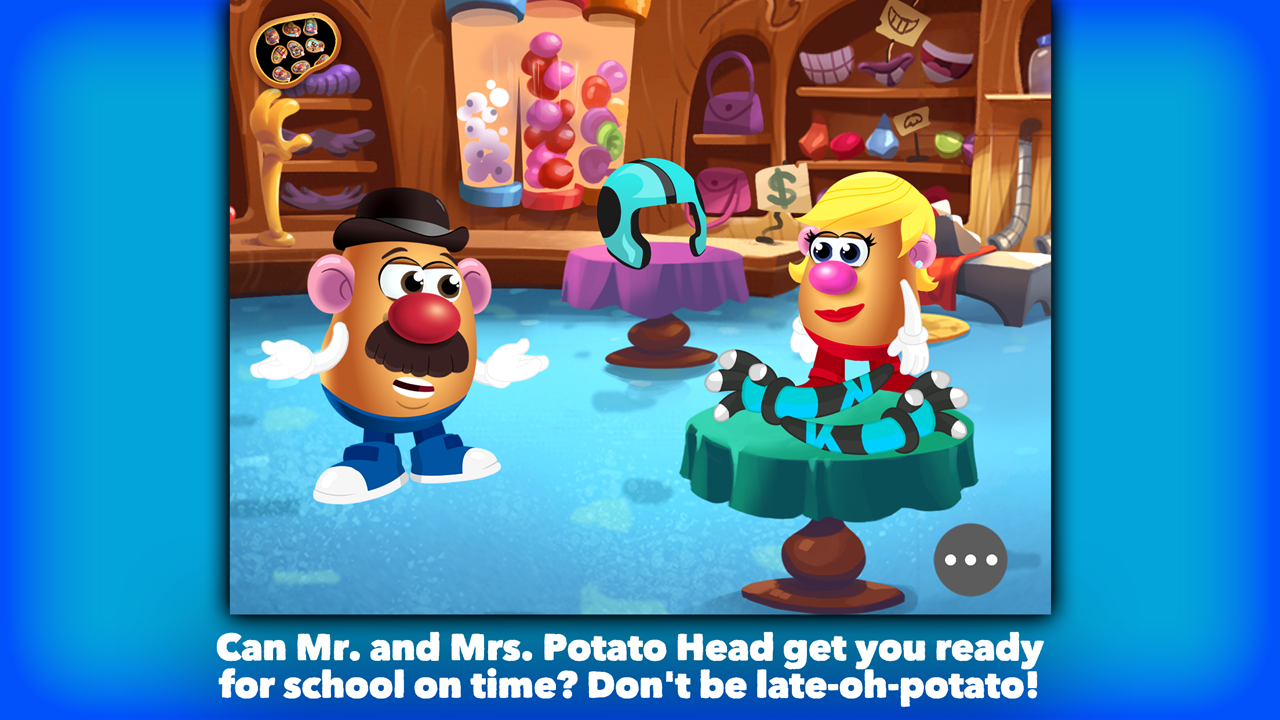 Mr. Potato Head: School Rush Screenshot 0
