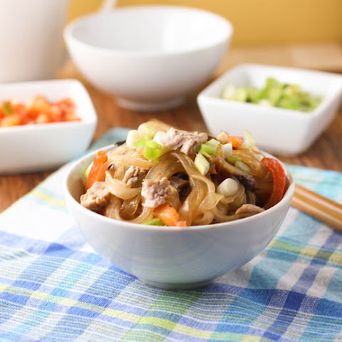 Pork and Noodles with Hoisin-Peanut Sauce