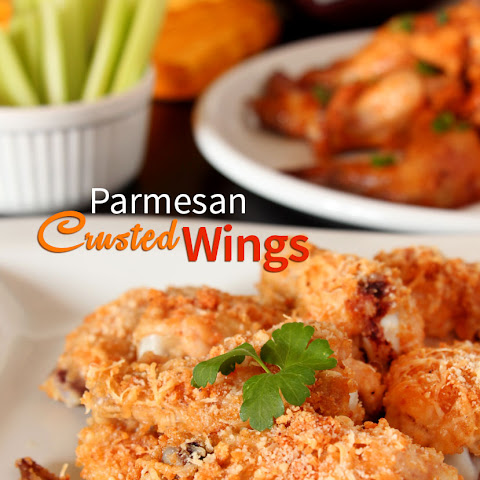 Parmesan Crusted Chicken Wings