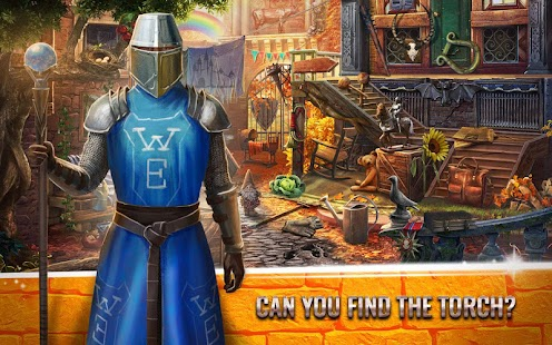 Mystery Castle Hidden Objects - Seek and Find Game