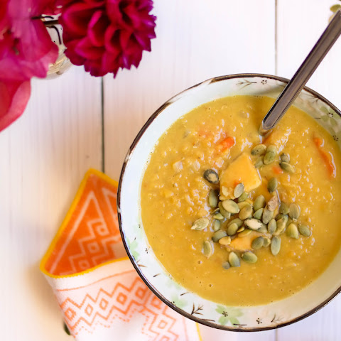 Warming Coconut Curry Soup