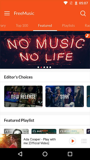 Free Music & Music Player For PC