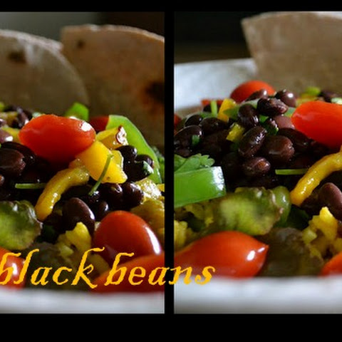 Yellow Rice & Black Bean Salad