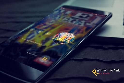 ReTro hoMeE for KLWP - screenshot