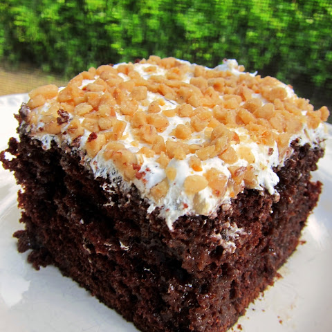 Chocolate Toffee Cake