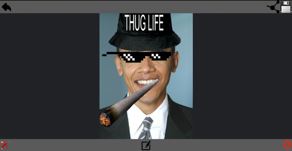 Thug Life Maker - screenshot