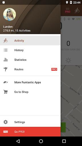 Runtastic Mountain Bike GPS Tracker screenshot 3