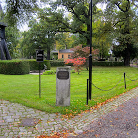 Galärvarvskyrkogården by Viive Selg - City,  Street & Park  Cemeteries (  )