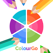 App ColourGo - Coloring book version 2015 APK