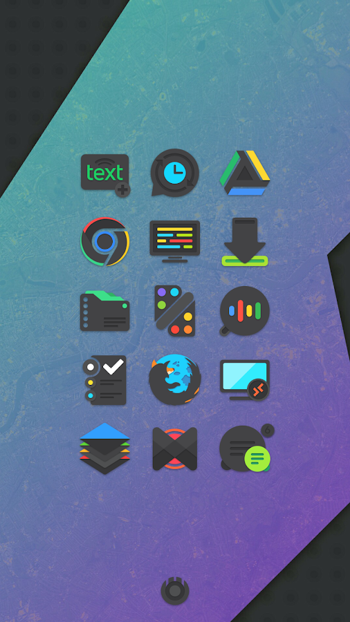 Crispy Dark - Icon Pack(SALE!) Screenshot 0