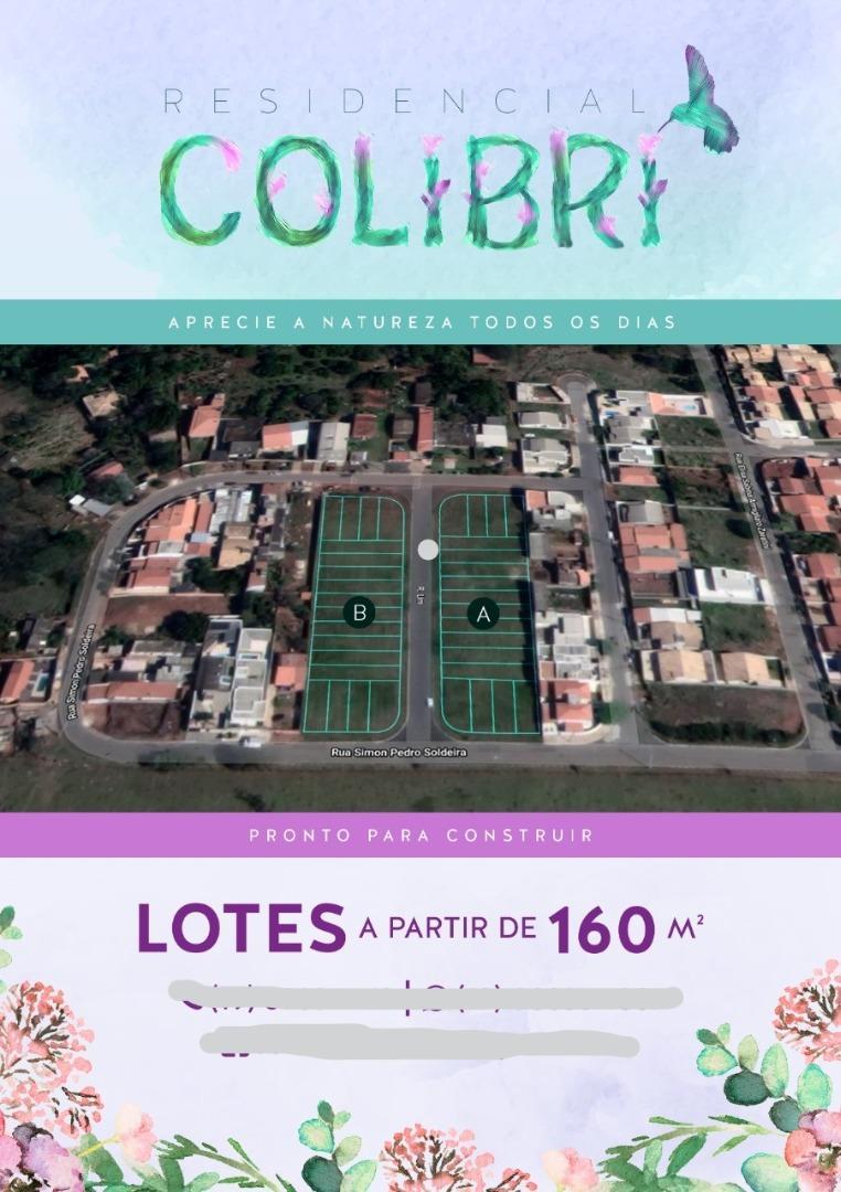 Belos Terrenos, com toda infraestrutura, à venda em Paulínia, 163 m² por R$ 130.000 - São Luiz - Paulínia/SP