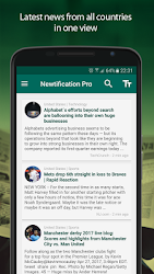 News by Notifications PRO 2.4.1 APK 2