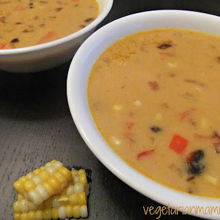 Coconut Corn Soup - #glutenfree #vegan