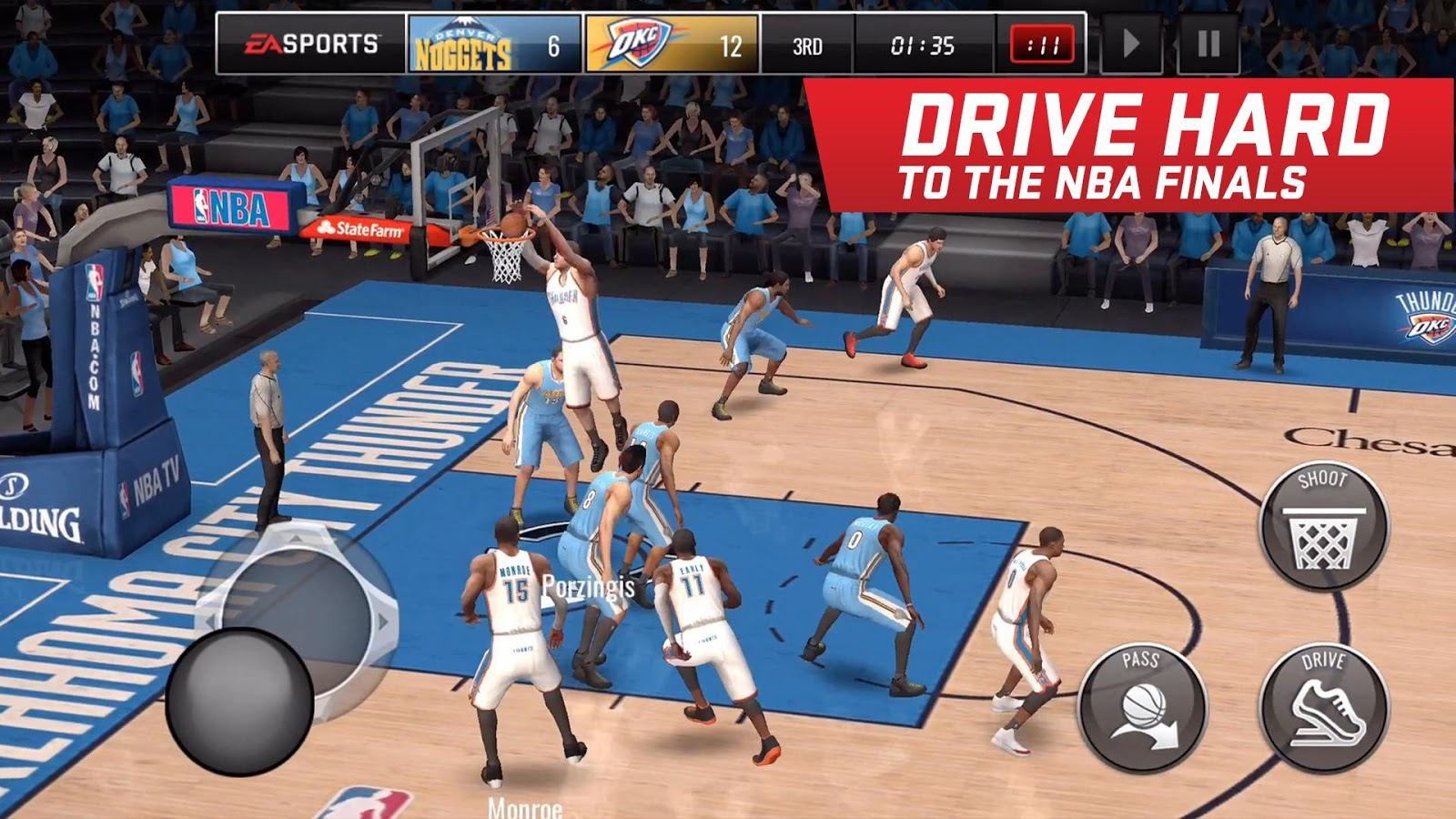 NBA LIVE Mobile Basketball Screenshot 3