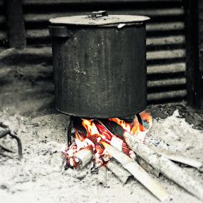 Batak Traditional Cooker by Daniel Pasaribu - Food & Drink Cooking & Baking ( traditional, cooking, batak, toba )