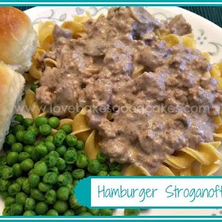 Hamburger Cream Of Mushroom Soup And Noodles Recipes