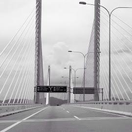 Penang bridge by Sandy Ling - Buildings & Architecture Bridges & Suspended Structures