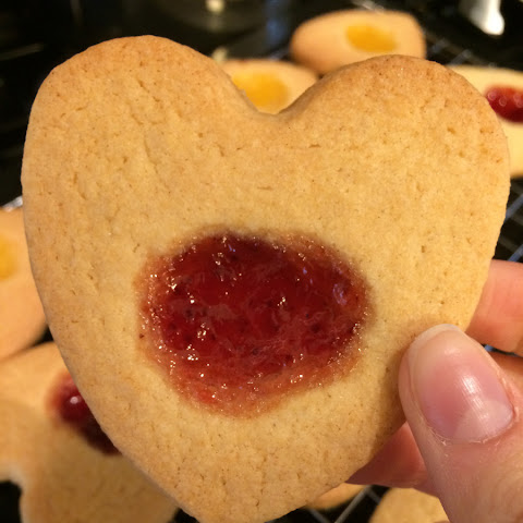 Home made Jammy Dodgers