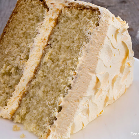 Moist Yellow Buttermilk Cake