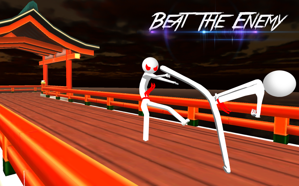 Stickman Kampf Karate 3D android spiele download
