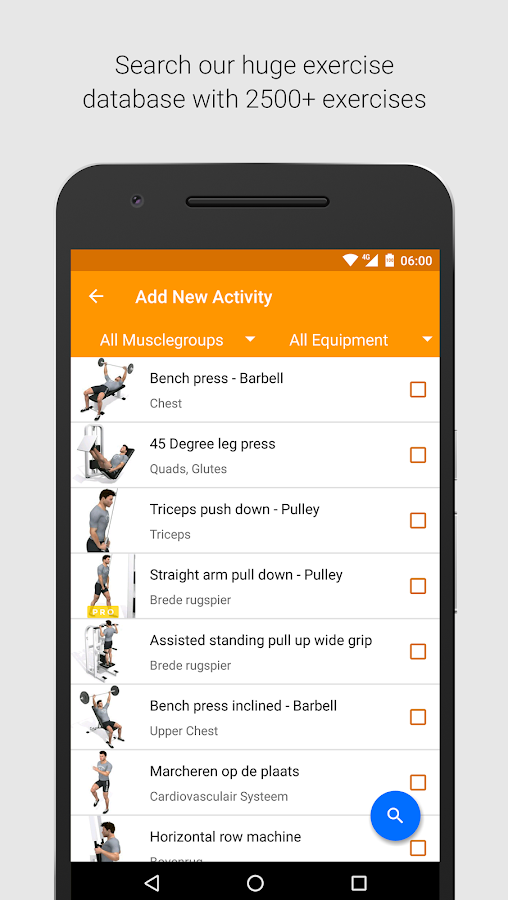 Virtuagym Fitness - Home & Gym Screenshot 1
