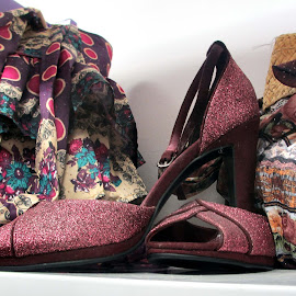 Shoe display 02 by Michael Moore - Artistic Objects Clothing & Accessories