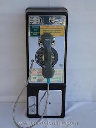 Single Slot Payphones - New England Tel Co Boston 1C loc UP7 1