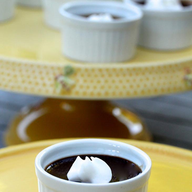 Chocolate-Espresso Pots de Creme Recipe | Yummly
