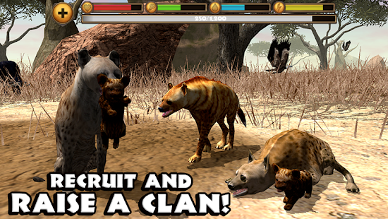 Hyena Simulator Cheats unlim gold