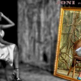 Self reflection..... by Joni Alir - People Fine Art