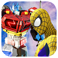 Free Spider Vs Transformer Battle : Spider Hero 3D APK for Windows 8